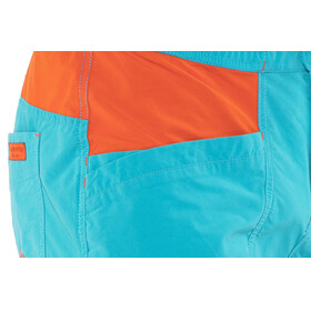 La Sportiva M's Leader Shorts Tropic Blue/Tangerine